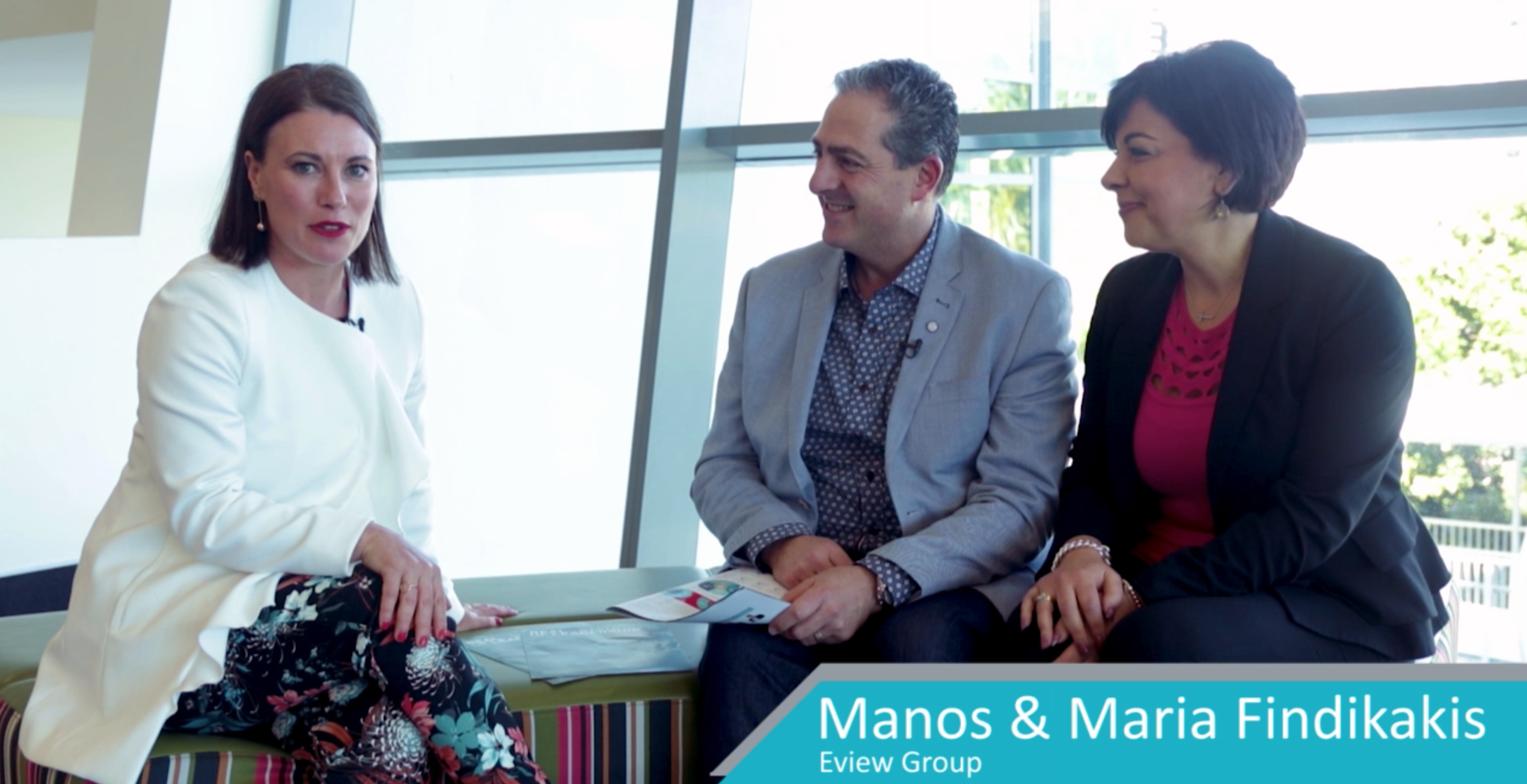KEY LEADERS OF INFLUENCE | INTERVIEW SERIES | MARIA & MANOS FINDIKAKIS